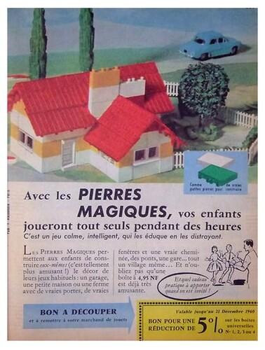 Les pierres magiques - 1960