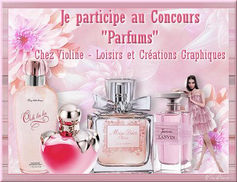 Concours parfum chez violine