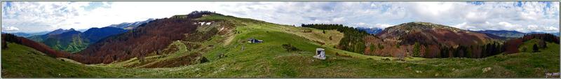 Vues panoramiques lors d'un circuit ours effectué en limite Ariège / Haute Garonne - Couledoux - 31