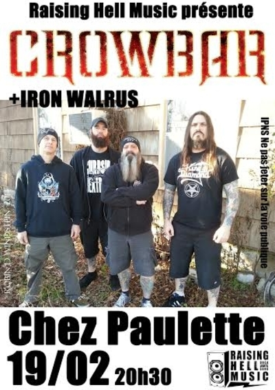 CROWBAR_Chez Paulette_19-02-2015
