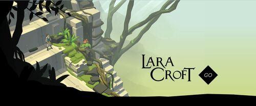Mise à jour et promo du jeu Lara Croft Go