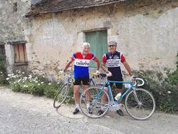 Christian et Jean-Philippe, puristes du vélo ancien.