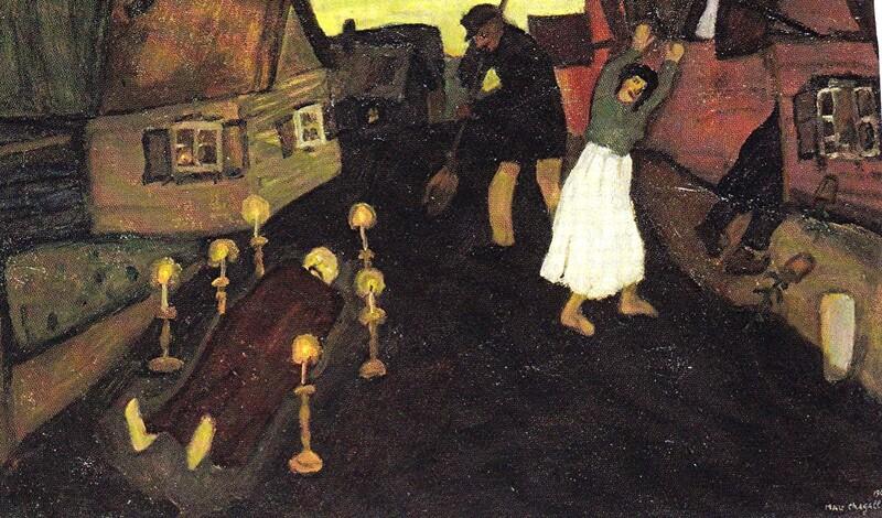 Chagall, jeunesse à Vitebsk