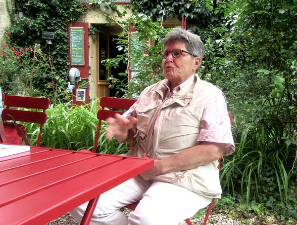 Une rencontre avec Yvette Bouvet-Dupanloup, botaniste, à la galerie des Z'uns Possible à Chamesson...