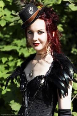 Goth élégante