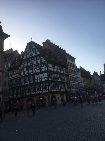 Strasbourg hier Dimanche