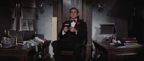LES DIAMANTS SON ETERNELS - BOX OFFICE SEAN CONNERY 1971