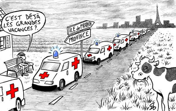 Rions encore et toujours de cette épidémie qui n'en finit pas....