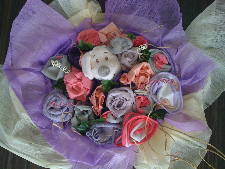 Des commandes de bouquets pour cadeau naissance fille for Bouquet cadeau