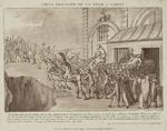 Caricature sur la chute prédite de la constitution de 1791.