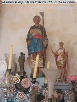 Saint Druon de Sebourg († 1189)