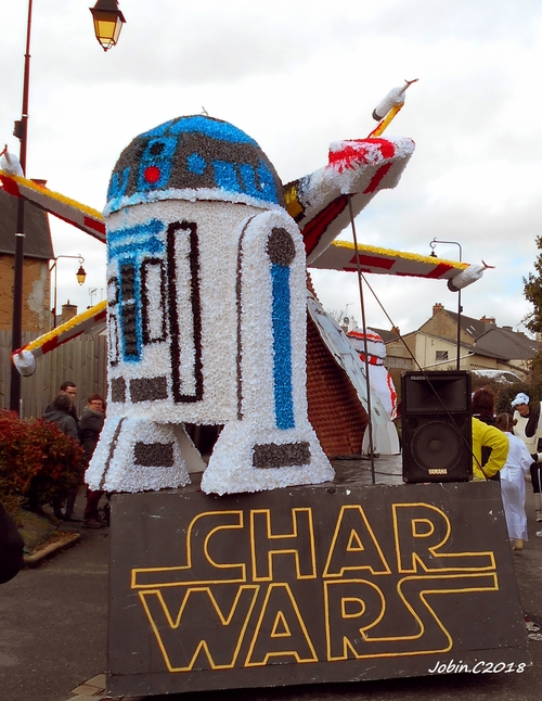 #carnaval #broons #2018 #starwars