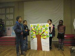 L'arbre à souhaits des CE