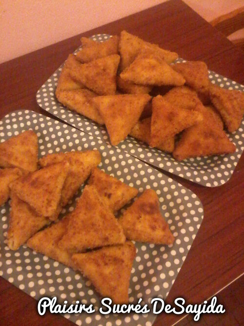 Crêpes Frit façon Samosas