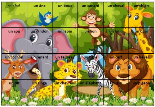 puzzles des mots