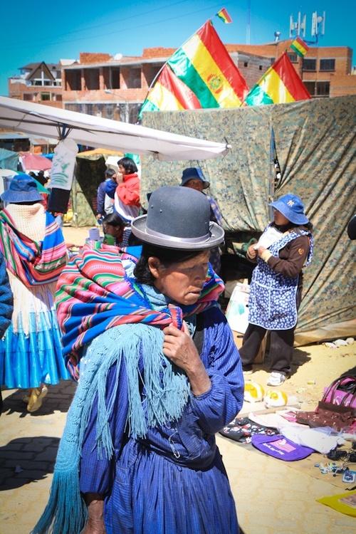 La Paz : le marché d'El Alto