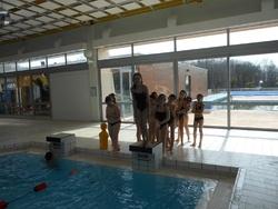 dernière séance piscine pour les CM