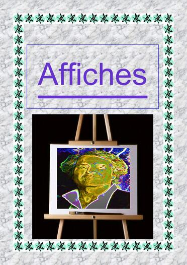 Affiches expositions