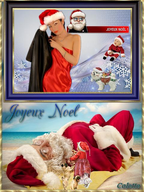 Mes montages de Noël