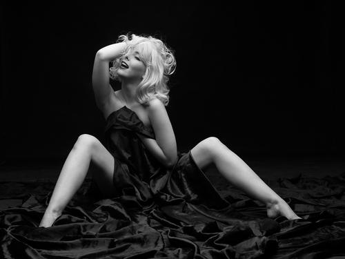 Glamour et sensuelle