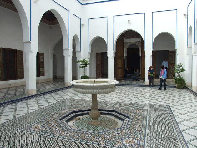 Marrakech 5 / Dans la Médina (3) : Le Palais Bahia