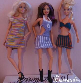 Tricot Barbie Fashionistas Sassy Glam - 11.06.11