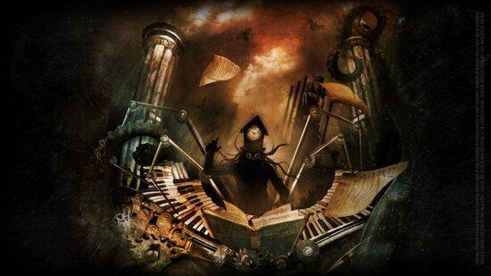 Love the machine,hate the  factory.....(Aimer la machine ,détester l'usine) devise Steampunk