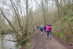 La randonnée du 12 février à Mondrainville