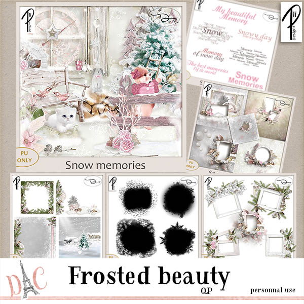 SNOW MEMORIES - BUNDLE (PU) PLIDESIGNS