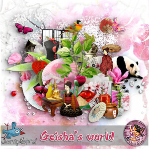 "* Kit ""Geisha's world"""