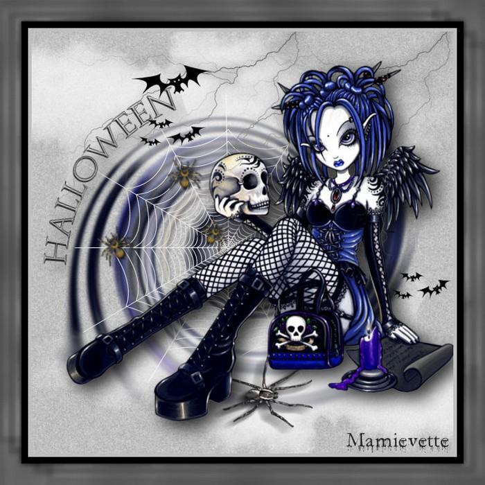 C'est l'Halloween avec Mamievette!