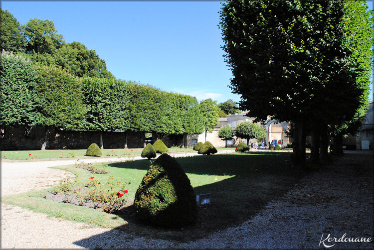Parc du château Citadelle de Bourg sur Gironde