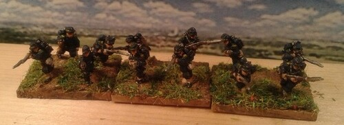 Spicheren 1870 On termine l'infanterie française