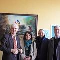 Févrirer 2013 : semaine italienne, un délégation restreinte de Carmignano est venue