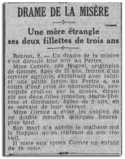 """L'ogresse"" du Pertre (35)"