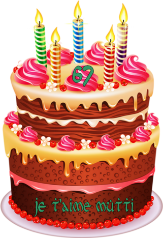 Un joyeux anniversaire pour ma Mutti chérie !