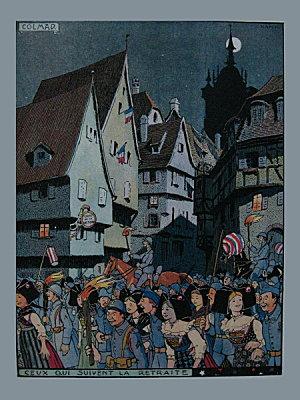 Livre : L'Alsace heureuse une page