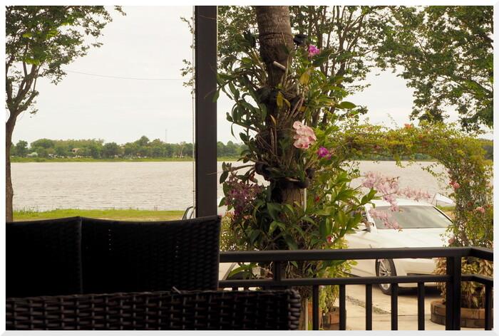 Photos de Thaïlande. Déjeuner au Lac.