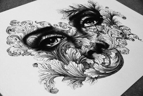 Une artiste de petits points........