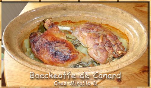 Baeckeoffe de Canard