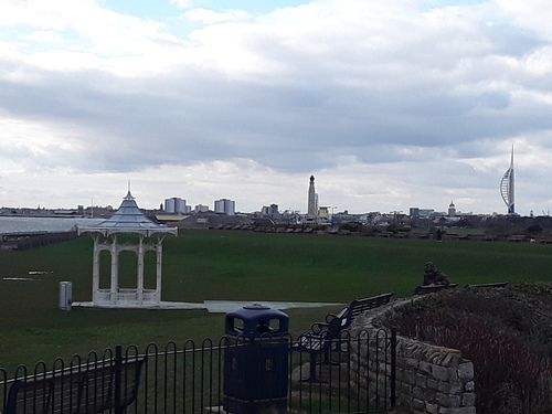 Southsea and its castle