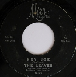 Leaves : Hey Joe (1966)