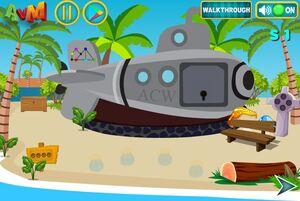 Jouer à AVM Escape the beach