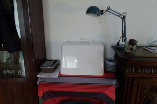 Je présente ma nouvelle machine à coudre