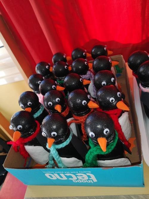 nos pingouins bricolage