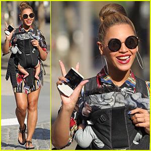 Beyonce & Blue Ivy Carter: Central Park Pair