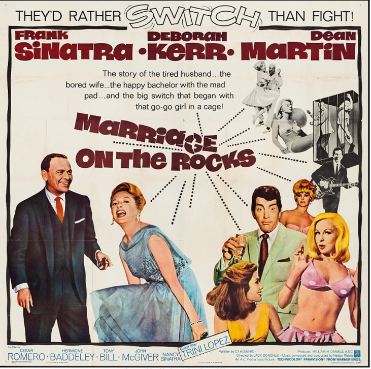 MARRIAGE ON THE ROCK BOX OFFIC E USA 1965