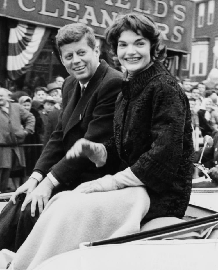 John F. and Jacqueline Kennedy appeared happy at the 1958 South Boston Parade. But that was two years after Jackie allegedly told her mom she was ready to divorce the philandering pol.