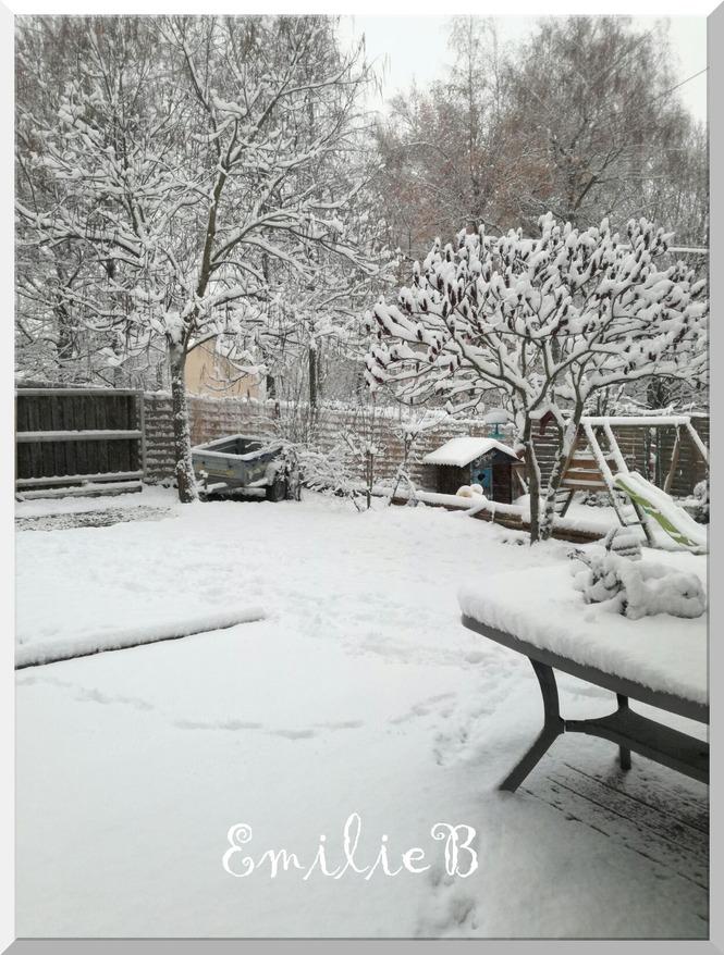 De la neige en Isère