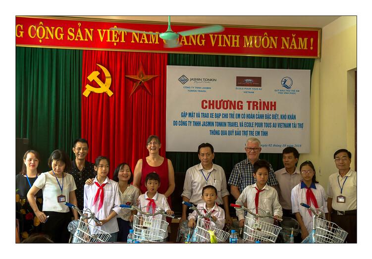 La Présidente a Vinh Phuc